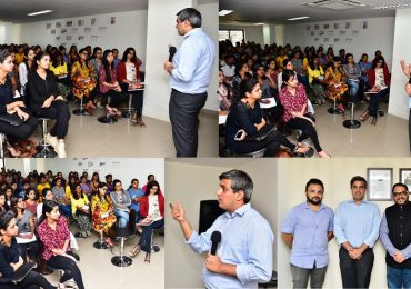 Talk on sustainable and ethical fashion by Abhishek Jani from Fairtrade Foundation India