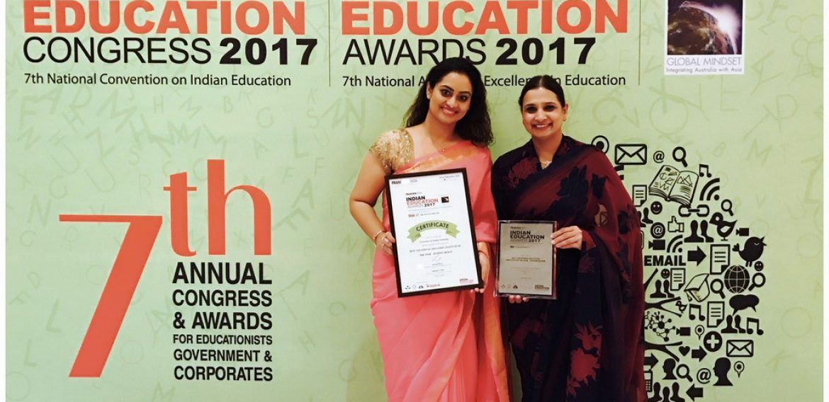 """Best Vocational Education Institute of the Year – Fashion Design"" Award received"