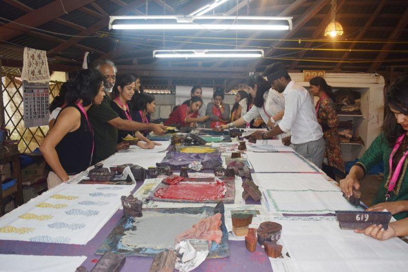 THARANGINI WORKSHOP – JD INSTITUTE OF FASHION TECHNOLOGY