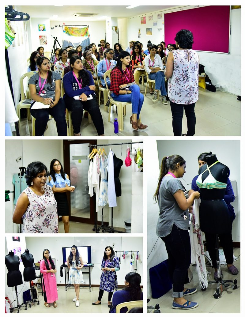 Styling Workshop by Ms. Lakshmi Murugesh from Zivame – Department of Fashion Design | Shot By : Jerin Nath