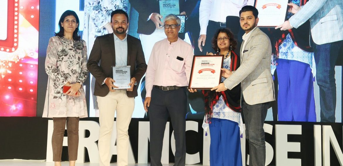 Winner of Skill Learning for Fashion Design at Indian Education Awards