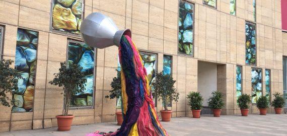 Phoenix Market City Installation – Promotion of sustainable textile