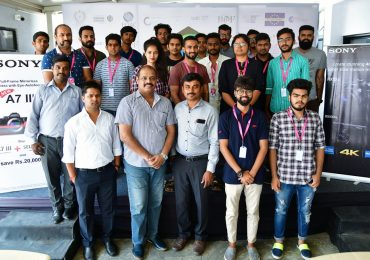 Photography course students at SONY workshop | JD Institute Bangalore
