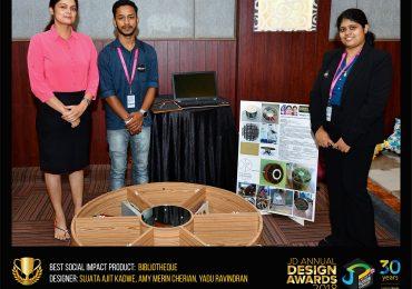 BIBLIOTHEQUE- Change – JD Annual Design Awards 2018