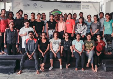 International Yoga Day observed at JD Institute