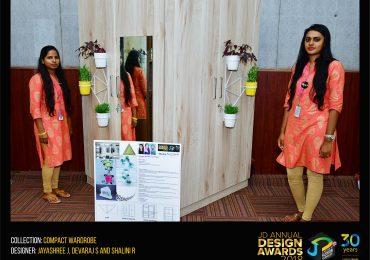 Compact wardrobe – Change – JD Annual Design Awards 2018