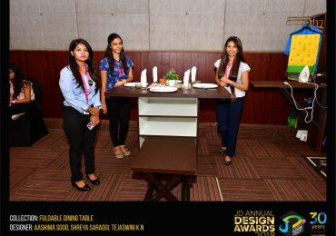 Foldable Dining Table – CHANGE – JD Annual Design Awards 2018