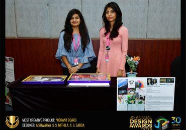 Vibrant board – Change – JD Annual Design Awards 2018