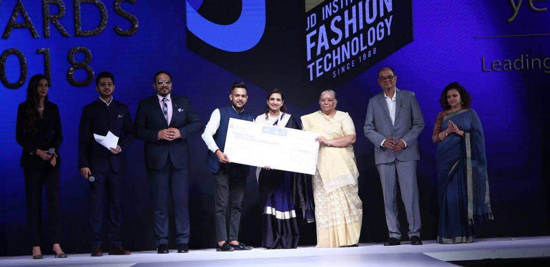 JD Institute of Fashion Technology celebratesFashion Awards 2018
