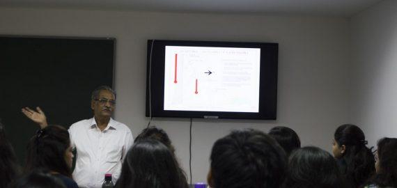 An informative session on Vaastu Shastra for Interior Design Department