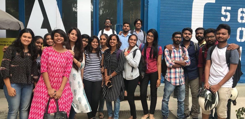 Interior Students at Social & Easy Tiger | Site Visit