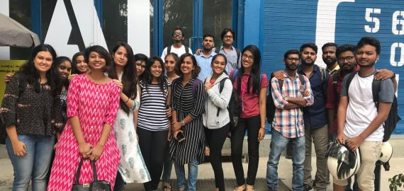 Interior Students at Social & Easy Tiger | Site Visit