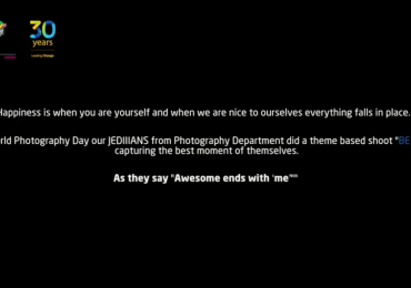 """JEDIIIANS observing world photography Day 2018 with the theme """"BE NICE"""""""