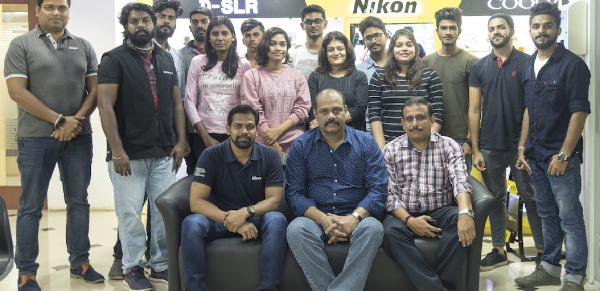 Learning the art of Capturing: Jediiians at Nikon Training Centre Bangalore