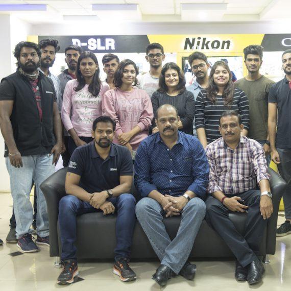 Learning the art of Capturing: Jediiians at Nikon Training Centre Bangalore