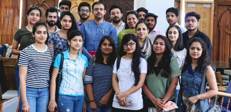 Interior Design Students visit  DS Doors India Pvt Ltd
