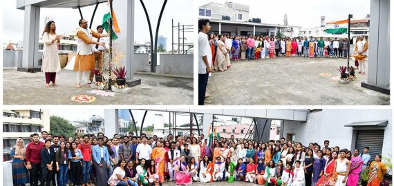 72nd Independence Day Celebrations at JD Institute, Bangalore, India
