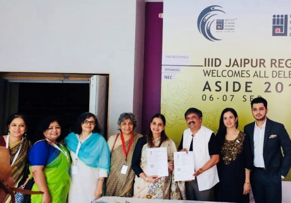 Collaboration with Institute of Indian Interior Designers - IIID