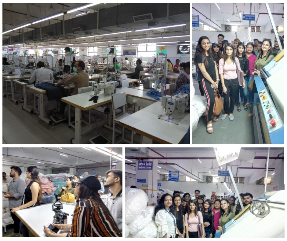 INDUSTRY VISIT FOR STUDENTS OF JD INSTITUTE
