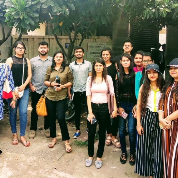 INDUSTRY VISIT FOR STUDENTS OF JD INSTITUTE, SILIGURI