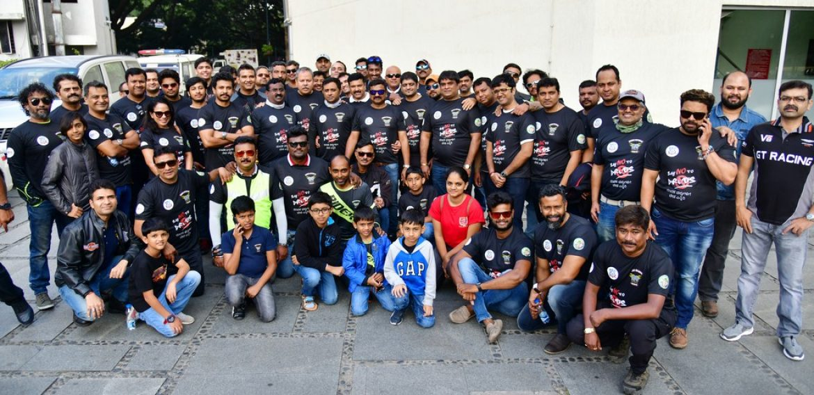 Ride for Nation: Riders Republic Motorcycle Club gear up for 'No Drug Campaign'