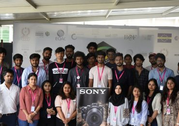 Photography students learning about new inventions | Sony Workshop at JD Institute
