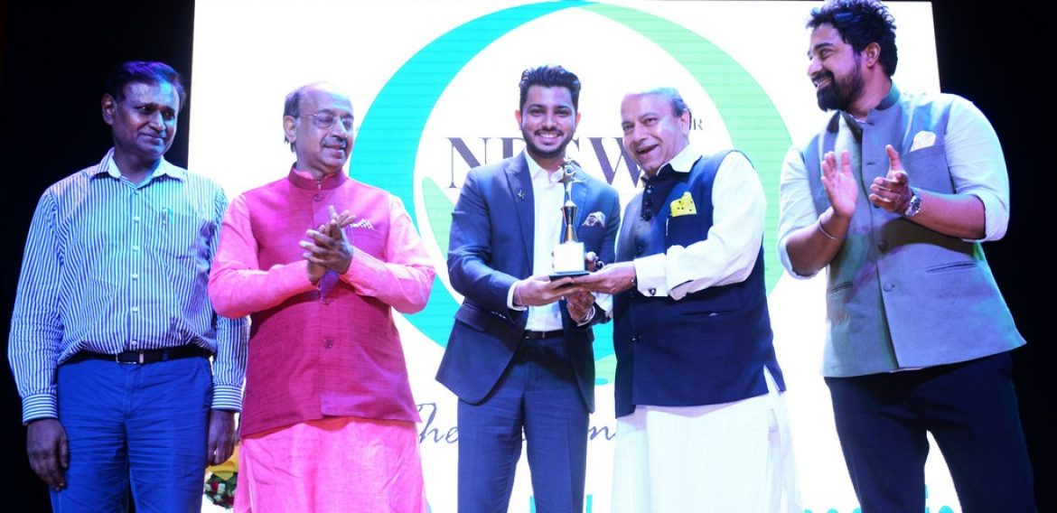 Mr Harsh Dalal was honoured with the Youth Achiever of the Year Award on International Youth Day