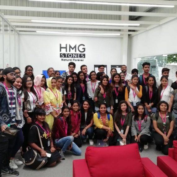 Industrial Visit to Hindustan Marble & Granite Factory