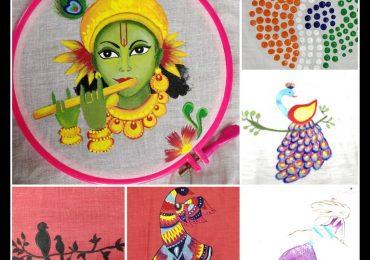 Fabric Painting Workshop – JD Institute of Fashion Technology Mumbai