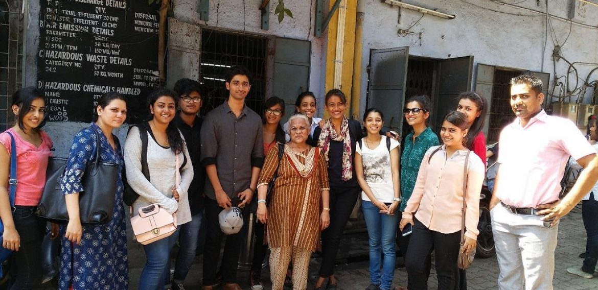 Fashion Design Industrial Visit to Bhiwandi to understand Fabric Construction