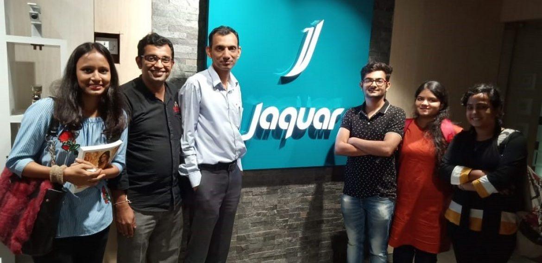Interior Design field visit to Jaguar Showroom – JD Institute of Fashion Technology, Mumbai