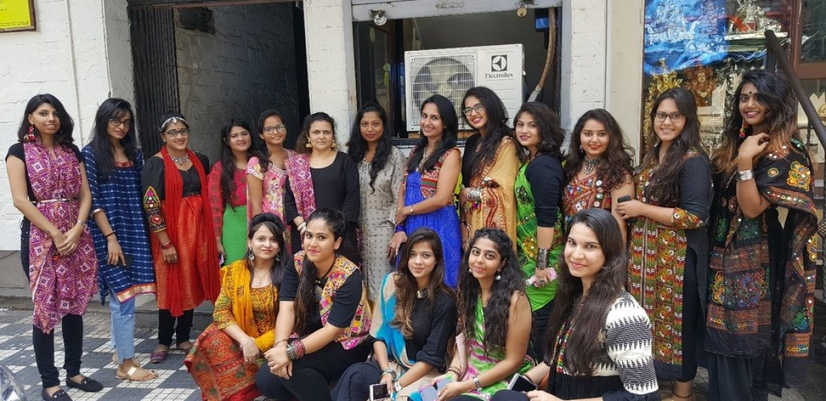 Navratri Celebration – JD Institute of Fashion Technology, Mumbai