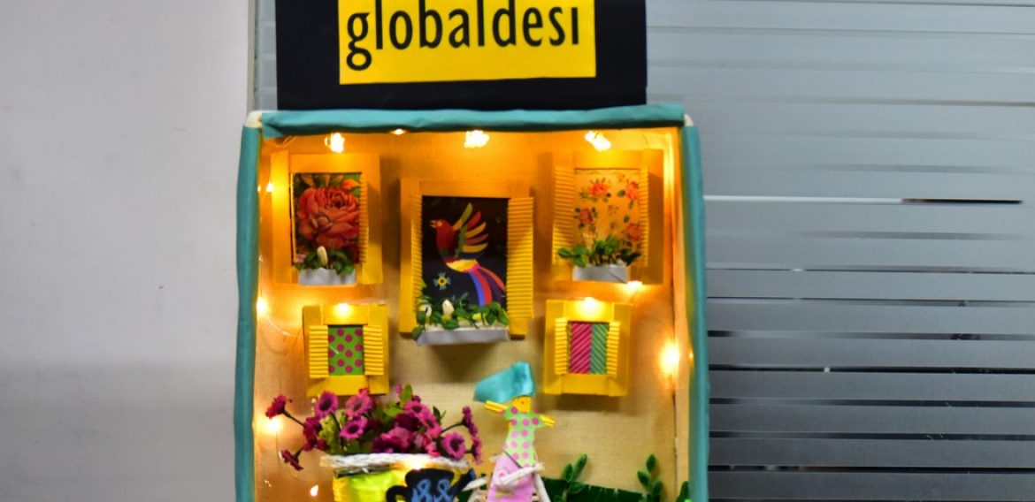 The Art of Window Displays at JD Institute