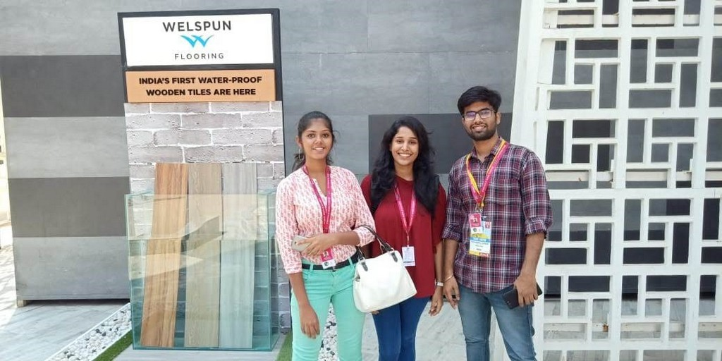 Students Visit to The Economic Times Acetech Exhibition