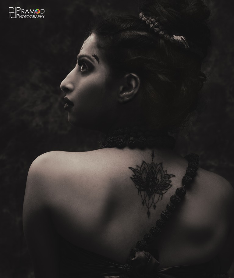 "The theme ""Aghori"" was something extraordinary which portraits the preachers who smear ashes over their body, wears human bones of the corpses with a pure heart free of any hatred, greed or fear creativity visually - Aghori00148 1 New - Creativity Visually Captured 