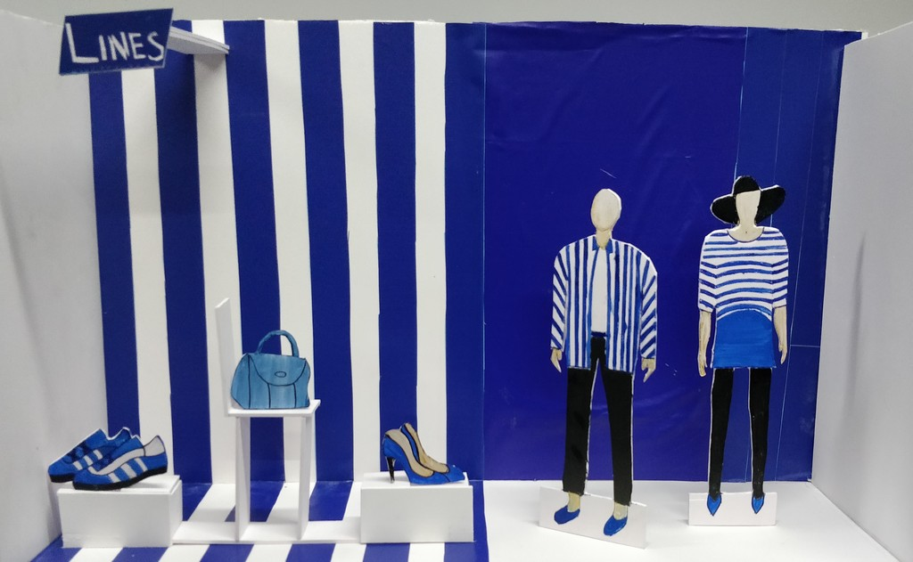 Miniature Display visual merchandising Miniature Display by Diploma in Visual Merchandising Batch IMG 20190824 130223